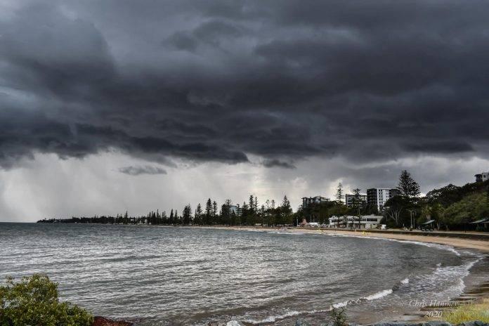Severe Thunderstorm Warning For Sunshine Coast & North Brisbane 28/10/2020