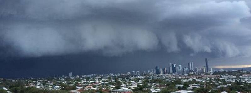 Severe storm hits brisbane – one of the worst in history
