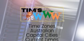 australian capital cities current times