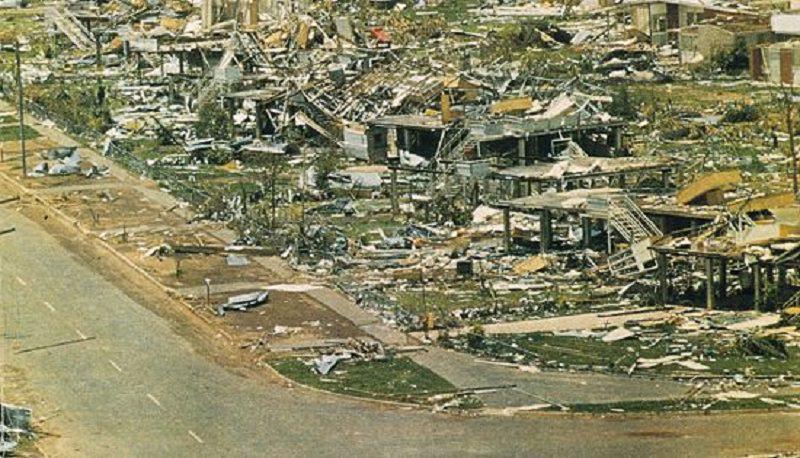 Cyclone tracey darwin