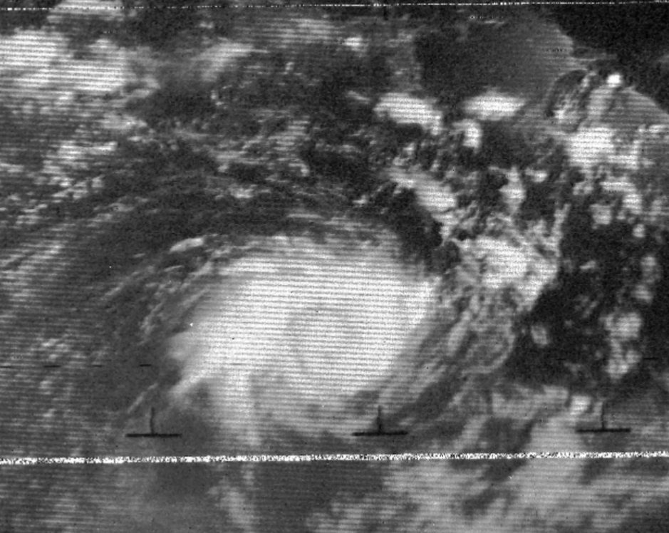 cyclone tracy satellite image