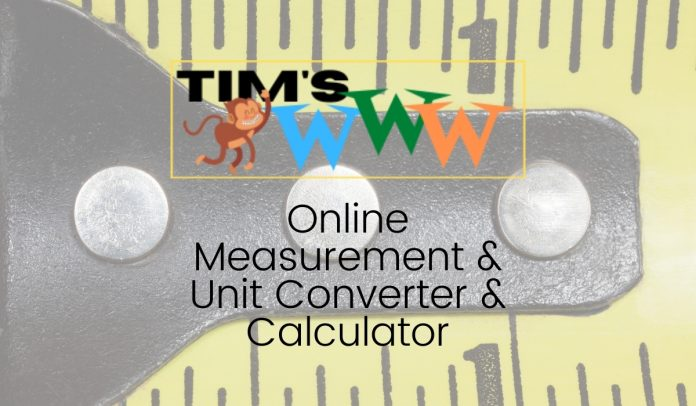 online measurement unit converter calculator