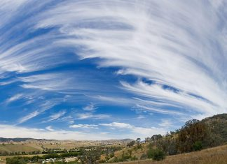 cirrus spissatus cloud
