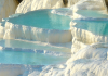 the natural thermal pools of pamukkale