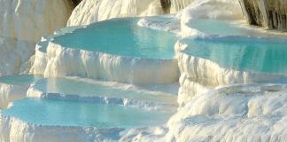 the natural thermal pools of pamukkale