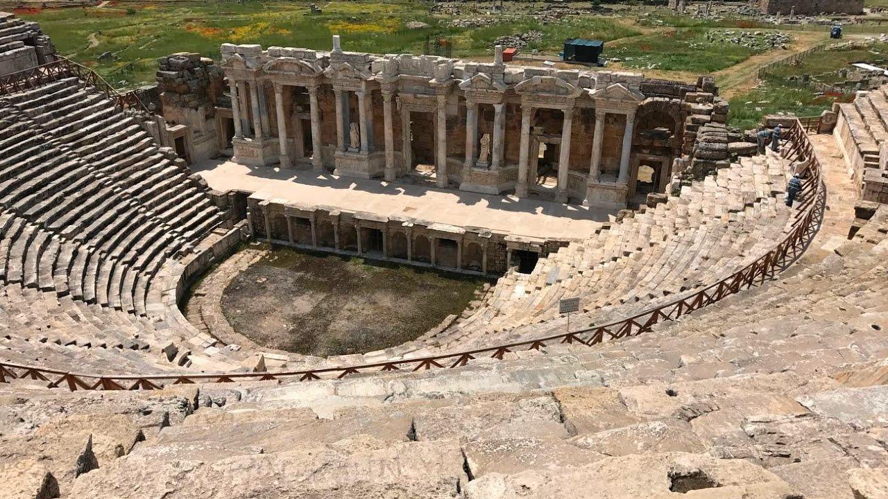 theatre of hierapolis
