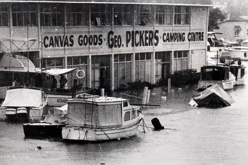 the 1974 floods Brisbane