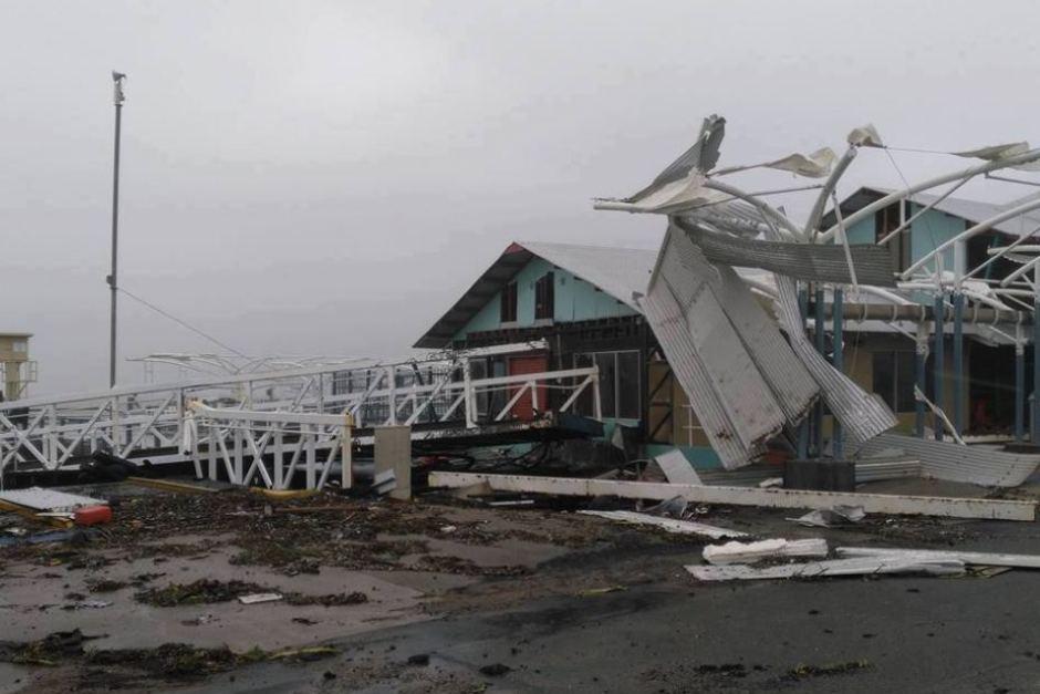 shute harbour whitsundays tropical cyclone damage