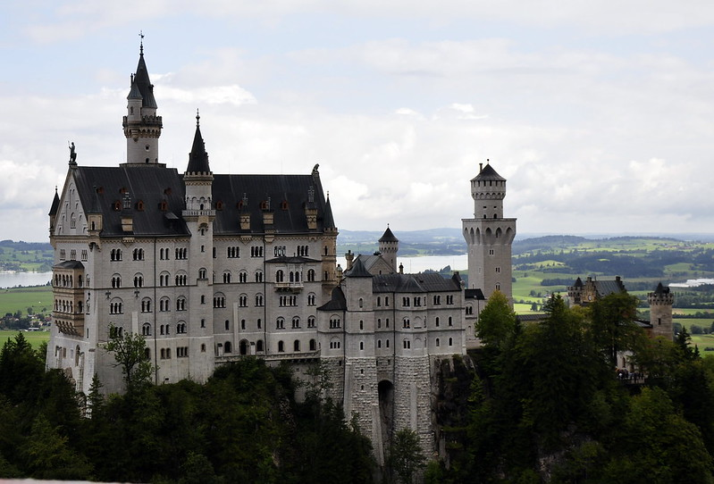 Neuschwanstein castle – a th century german castle